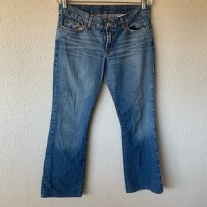 Lucky Brand Dungarees Women's 8/28 Lowered Peanut